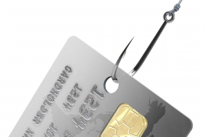Hooking and skimming a credit card to commit future fraudulent actions with your identity