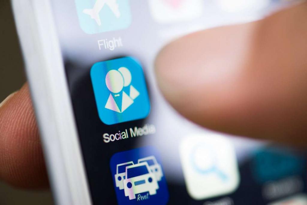 Unfaithful partner social media secret messages