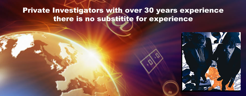 Private Investigators with over 30 years experience