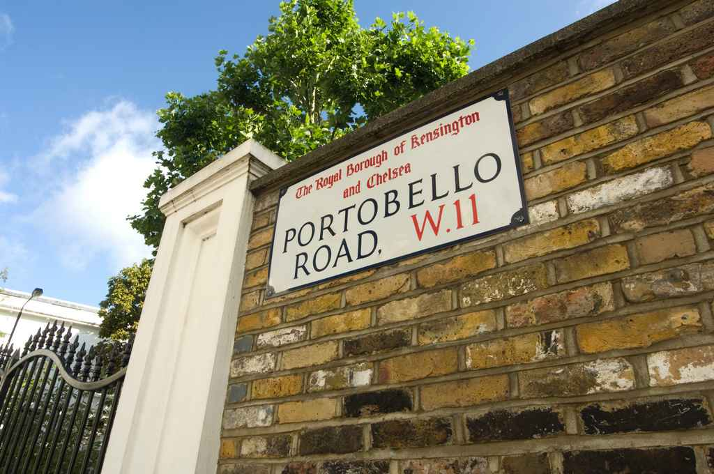 Private Investigator West London Portobello Road W11 sign